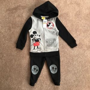 Mickey Mouse Hoodie Set